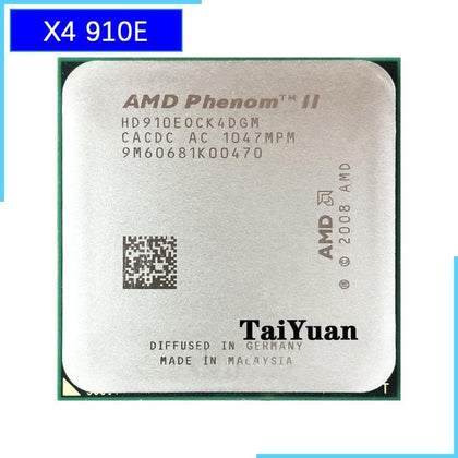Phenom II X4 910e 2.6 GHz Quad-Core CPU Processor HD910EOCK4DGM Socket AM3 - Go Buy Dubai