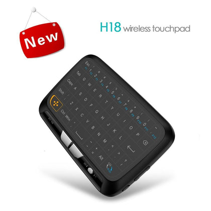 Mini Wireless Keyboard English Air Mouse Portable 2.4Ghz Usb Keypad Kayboards With Touchpad For Android IOS Tablet Laptop - Go Buy Dubai