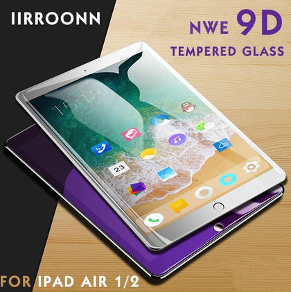 Anti-Blue Light Screen Protector For Apple iPad air 1 2 Tempered Glass - Go Buy Dubai