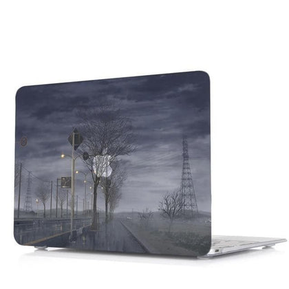 Oil painting series Painting Laptop Cover Shell Case For Macbook Air 11 13 Pro Retina Touch Bar 12 13 15 inch New Pro 16 A2141 - Go Buy Dubai