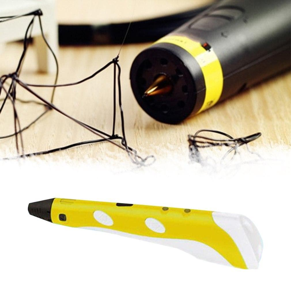 Plastic 3D Printing Pen Children'S Holiday Gift 3D Pen Children'S Toy Stereo Painting Three-Dimensional Molding