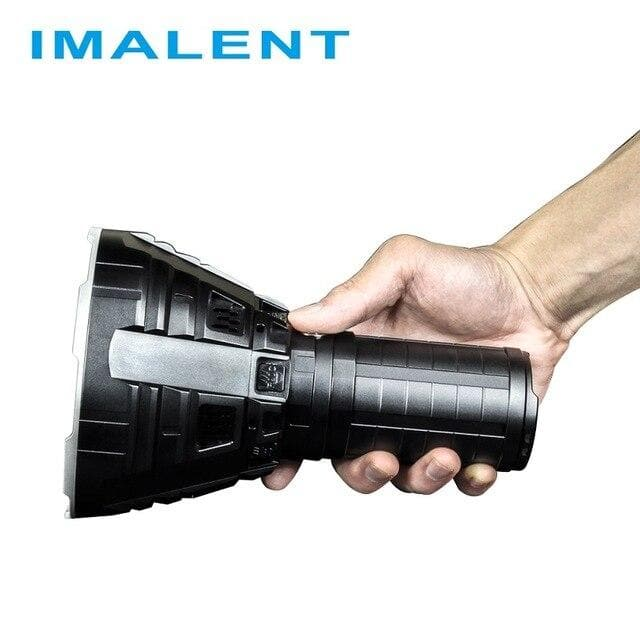 IMALENT R90C LED Flashlight CREE XHP35 HI Hight Power Rechargeable Flashlight  with Battery for Outdoor Search Light