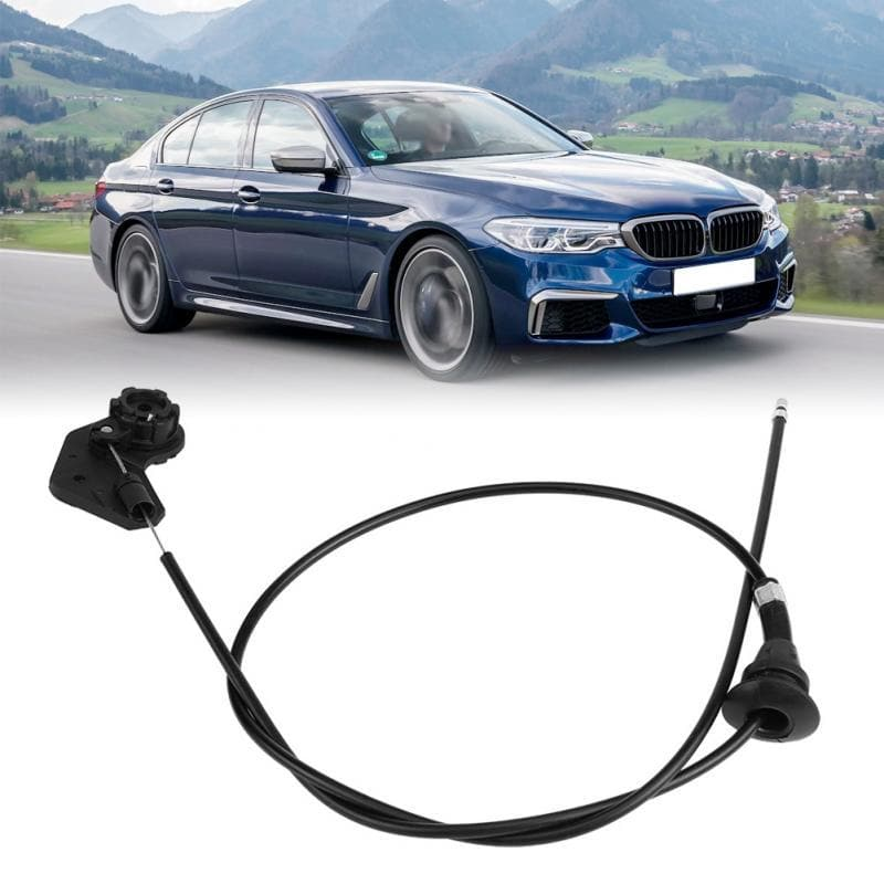 Car Auto Bonnet Hood Release Cable Wire for BMW E39 525i 530i 51238176595 51238176596 Hood Release Wire Car Accessories New