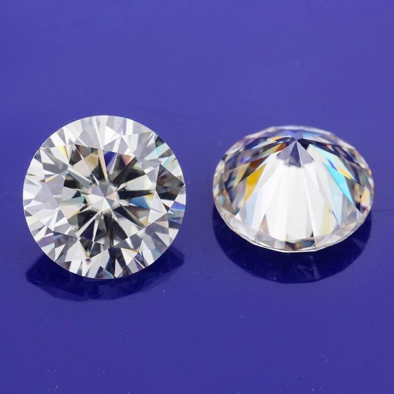 Sales 1.5 Carat 7.5mm IJ Color Moissanites Loose Stone VVS1 Diamonds