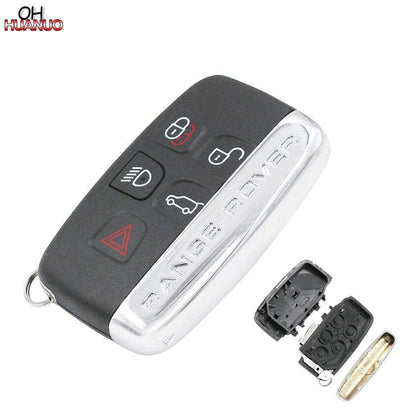 4+1 Buttons Remote Key Shell Case Fob 5 Button for Land Rover Range Rover Sport LR4 With Words - Go Buy Dubai