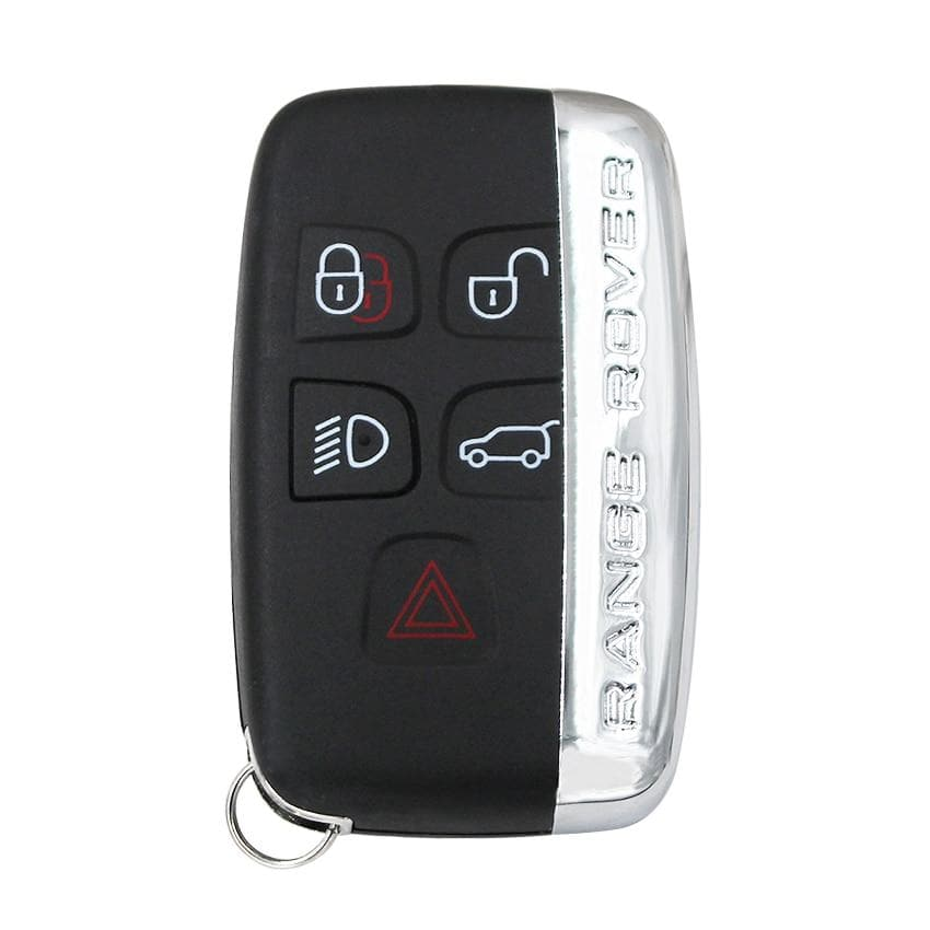 4+1 Buttons Remote Key Shell Case Fob 5 Button for Land Rover Range Rover Sport LR4 With Words