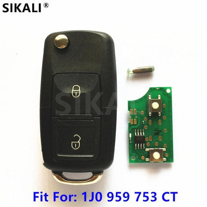 Car Remote Key for Seat 1J0959753CT 5FA009259-00 AROSA CORDOBA IBIZA LEON TOLEDO VARIO 2000 - 2008 - Go Buy Dubai