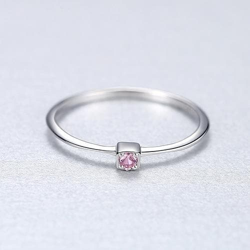 Topaz Solitaire Ring For Women Gemstone Rings Jewelry