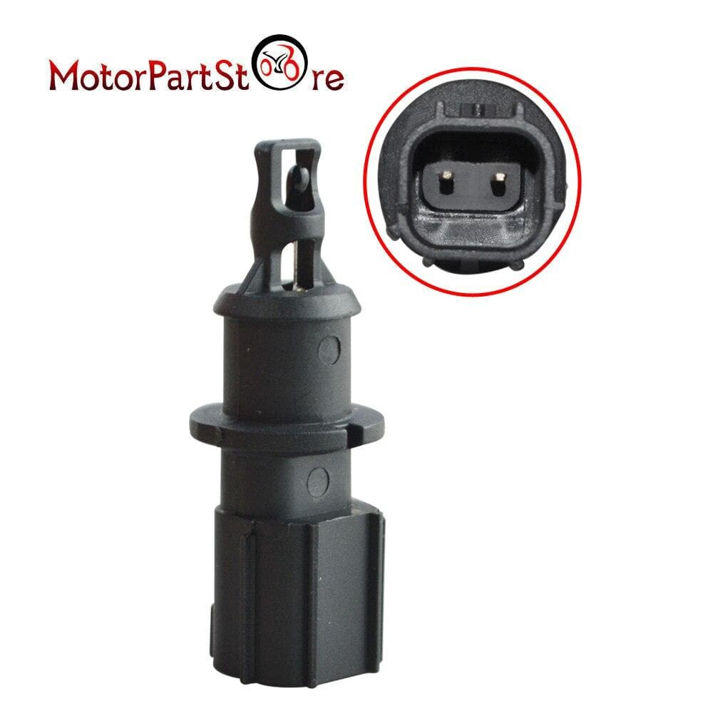 Black Plastic Intake Air Temperature Sensor Fit for Chrysler Dodge Jeep Ram 4606487AA 4606487AB 5S1024 AX109 SU3229 GT7610-930