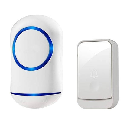 New Home Welcome Smart Doorbell Intelligent Wireless Doorbell Waterproof 300M Remote - Go Buy Dubai