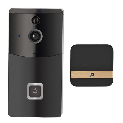 Smart Wireless WiFi Intercom Video Visual Doorbell Two Way Audio PIR Motion Sensor - Go Buy Dubai