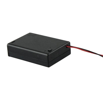 New Hot 1 Pc 3 AA 2A Battery 4.5V Holder Box Case With Switch Lead Black Hot Dropshipping YE1.17 - Go Buy Dubai