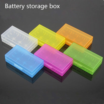 New Hard Plastic Battery Storage Protective Box Case Holder - Go Buy Dubai