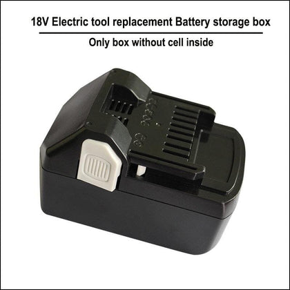 HIT1830 electric drill replacement 18650  battery storage box and case with PCB DIY tool Battery - Go Buy Dubai
