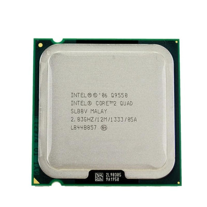 Intel Core 2 Quad Q9550 Processor 2.83GHz 12MB L2 Cache FSB 1333 Desktop LGA 775 CPU - Go Buy Dubai