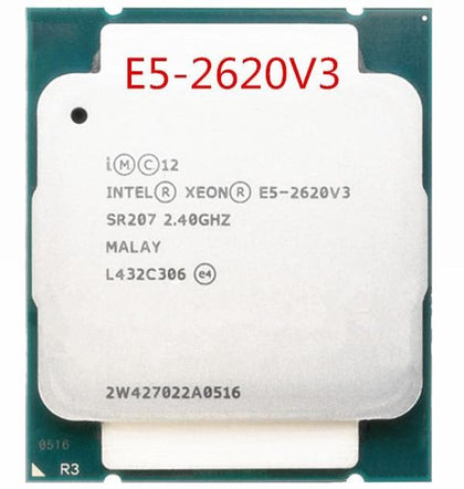 Original E5-2620V3 E5-2620 V3 E5 2620V3 CPU Processor six-core LGA2011-3 2.4GHZ 22nm 85W scrattered pieces - Go Buy Dubai