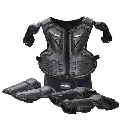 GHOST RACING Motorcycle Children Armor Protection Set 5-13 Age Kids Skateboard Snowboard Ski Roller Sports Full Body Protector - Go Buy Dubai