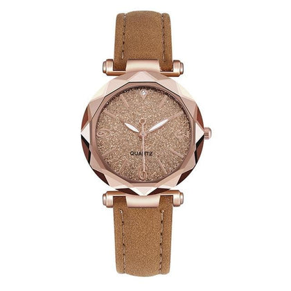 2020 New Women Watch Ladies Watch Colorful Luxury Delicate rhinestone Watches Quartz Watch Frosted dial Female Bracele Watch YE1 - Go Buy Dubai
