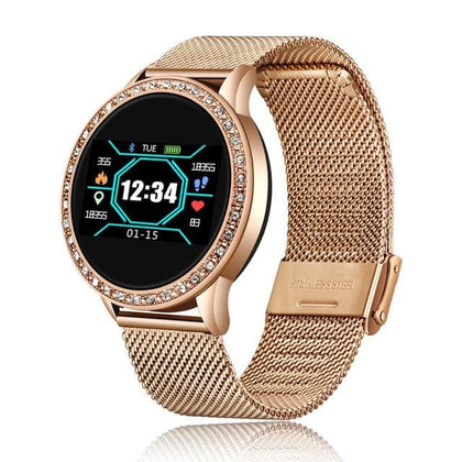 Women Men Smart Electronic Watch Luxury Blood Pressure Digital Watches Fashion Calorie Sport Wristwatch DND Mode For Android IOS - Go Buy Dubai