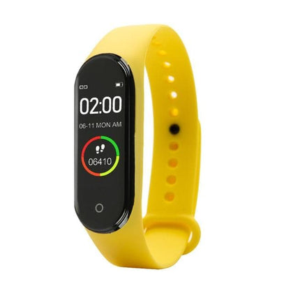 Fashion Smart Color Screen M4 Watch New label High Quality Blood Pressure Monitor Men Women Sports Tracker Pedometer Bracelet - Go Buy Dubai