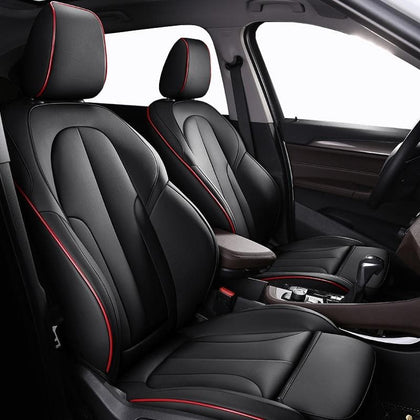 Leather custom car seat covers For Audi A6L Q3 Q5 Q7 S4 A5 A1 A2 A3 A4 B6 b8 B7 A6 c5 automobiles car accessories - Go Buy Dubai