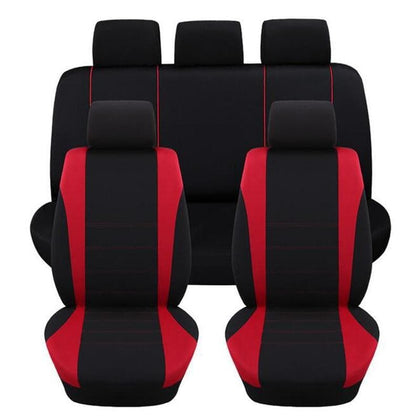 Seat Covers & Supports Car Seat Cover Universal Covers Rear Seat Red/Blue/Gray Line Auto Interior Decoration Accessories - Go Buy Dubai