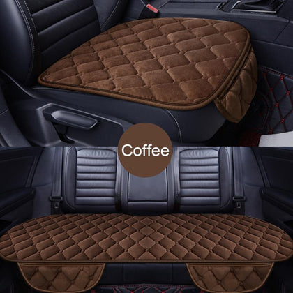 Winter Car Seat Cover Anti-slip Seat Cushion Warm Front Chair Pad For Auto Seat Protector Accessories For Toyota Camry 40 Ford - Go Buy Dubai