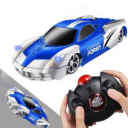 RC Car Racing Car Toys Climb Ceiling Across the Wall Rotating Stunt Remote Control Toy Car Model Christmas Gift for Kids - Go Buy Dubai
