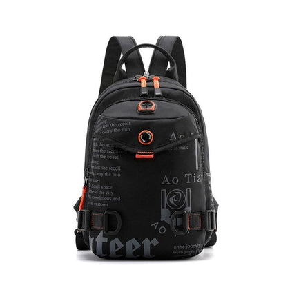 Men's Casual Backpack 2019 New Waterproof Nylon Small Weekend Travel Backpack For Men School Bags For Teenage Boys Back Pack - Go Buy Dubai