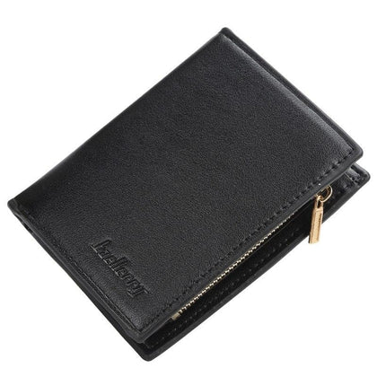 Small Slim High Quality Leather Men Wallet Male Purse Thin Walet Cuzdan Vallet Money Bag Short Card Holder Wallet Coin Pocket - Go Buy Dubai