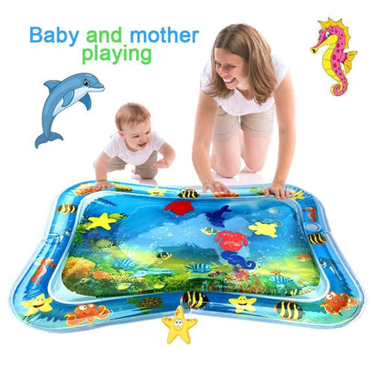 Hot Sales Baby Kids water play mat Inflatable Infant Tummy Time Playmat Toddler for Baby Fun Activity Play Center DropshipTSLM1 - Go Buy Dubai