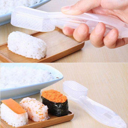 1pc DIY Sushi Mold Rice Ball Maker Sushi Making Tools Onigiri Rice Mold Food Press Sushi Maker Kitchen Bento Accessories - Go Buy Dubai