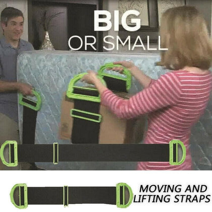 Moving artifact light and simple Landle adjustable moving and lifting belt suitable for furniture box mattress - Go Buy Dubai
