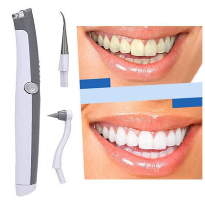 Electric Ultrasonic Tooth Stain Eraser Plaque Remover Dental Tool Teeth Whitening Dental Cleaning Scaler Tooth Odontologia Tool - Go Buy Dubai