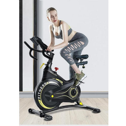 Spinning Mute Household Intelligent Exercise Bike Fitness Equipment Weight Loss Sports Riding Training - Go Buy Dubai