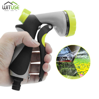 Multi-function Garden Water Gun For Watering Lawn Hose Spray Water Nozzle Gun Car High Quality Plastic Water Gun Sprinkle Tools - Go Buy Dubai
