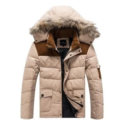 new arrival winter male down coat jacket with hood casual fashion plus size XL- 4XL 5XL 6XL 7XL 8XL 9XL 10XL 11XL 12XL 13XL - Go Buy Dubai