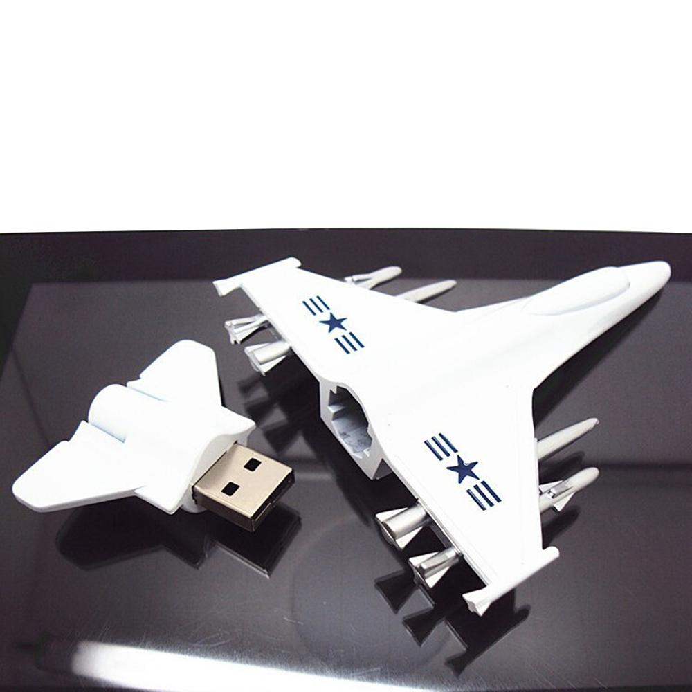New Metal USB Flash Drive Airplane Model Pendrive 8GB 16GB 32GB 64GB 128GB