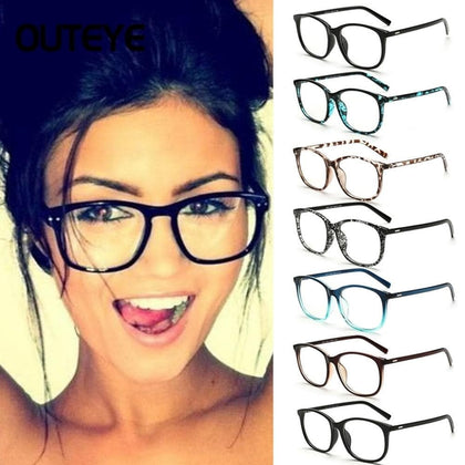 Transparent Clear Lens Eyeglasses Fake Optical Eye Glasses Frames For Women Myopia Glass Spectacles Eyewear  Computer Glasses - Go Buy Dubai