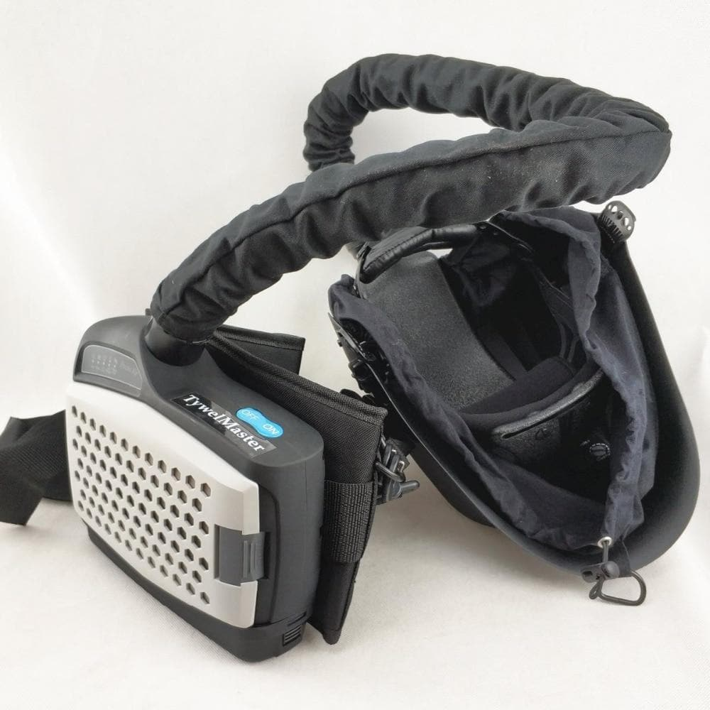Welding Mask Powered Air Purifying Respirator Auto Darkening Welding Helmet Personal Protective Equipment Industry PAPR Kit