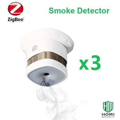 2020 Reddot Prize reworded smoke detector compatible with Smart Things bee fire smoke sensors - Go Buy Dubai