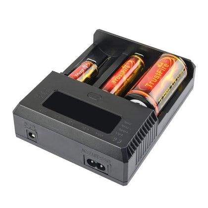 Lithium battery charger AA AAA 1.2V 3.7V Intelligent charger for aaa - Go Buy Dubai