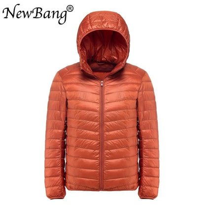 NewBang Plus 9XL 8XL 7XL Men's Down Jacket Ultra Light Down Jacket Men Windbreaker Feather Parka Man Winter Large Size Outwear - Go Buy Dubai