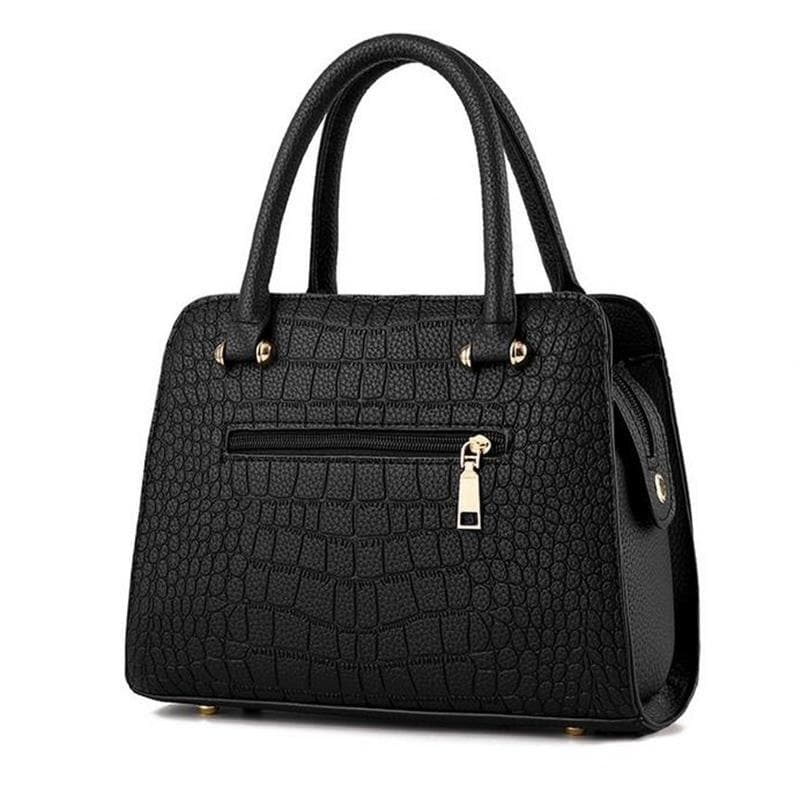 Crocodile Leather Women Tote V Letters Designer Handbags Luxury Quality Lady Shoulder