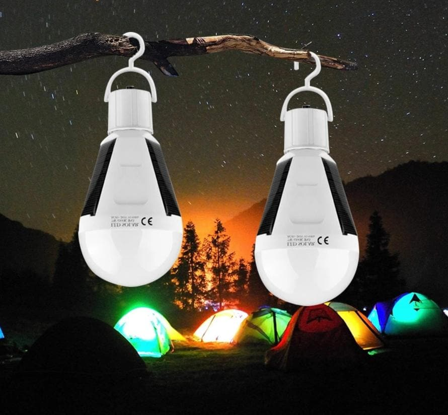 Rechargeable Portable Waterproof Outdoor Camp Tent Garden LED Solar Light
