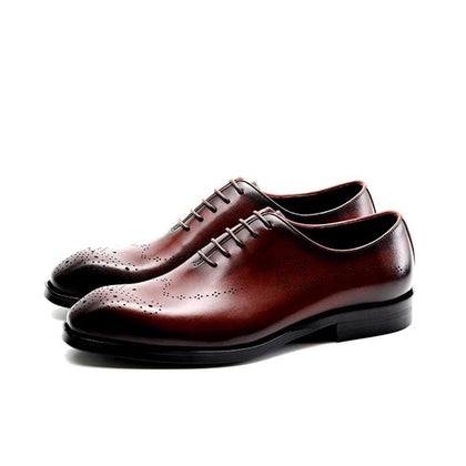 Men's Bullock Genuine Leather Wedding Shoes - Go Buy Dubai