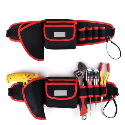 High Quality Belt Tool Bag Electric Drill Bag 600D Oxford Cloth Multifunction Durable Pocket - Go Buy Dubai