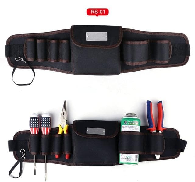 High Quality Belt Tool Bag Electric Drill Bag 600D Oxford Cloth Multifunction Durable Pocket