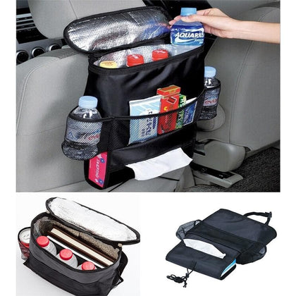 Car Seat Back Multi-Pocket Insulation Storage Bag Organizer Accessories New Arrival Auto Car Seat Organizer Holder Keep fresh - Go Buy Dubai