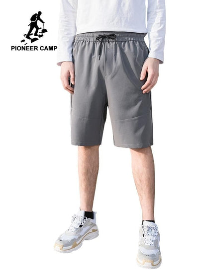 Pioneer Camp 2019 Men's Shorts Summer Sports Mens Shorts With Zippers Casual Male Shorts Homme Brand Clothing ADK901110 - Go Buy Dubai